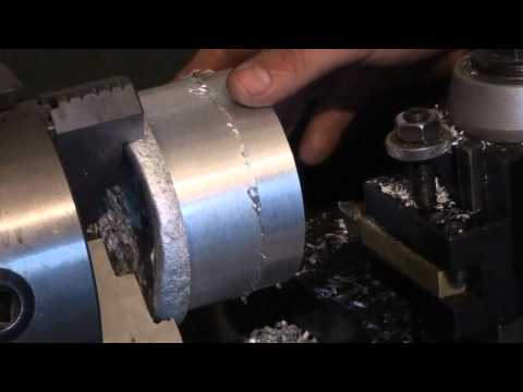 Lathe Project: Aluminum Pulley Part 1