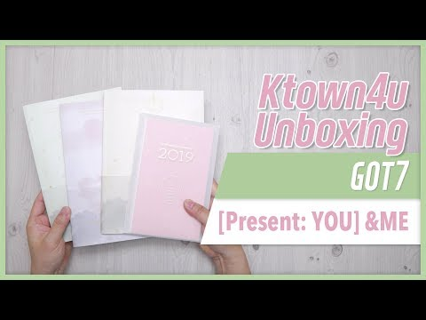[Ktown4u Unboxing] GOT7 - [Present: YOU] & ME 갓세븐 ガッセブン 언박싱 Kpop