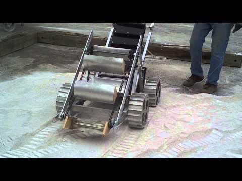 Temple Lunabots - First Drive Test - 5