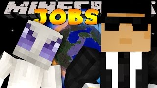 Minecraft Jobs - SECRET AGENTS! (Custom Roleplay)