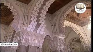 صلاتي العشاء والتراويح من مسجد الحسن الثاني بالدار البيضاء الشيخ عمر القزبري الليلة 22 رمضان 2017