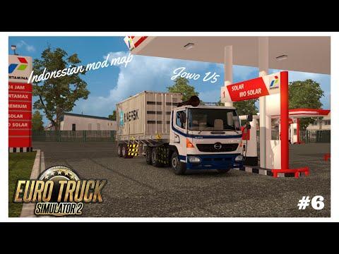 ETS2 - Jowo Map V5 - Indonesian Map Mods