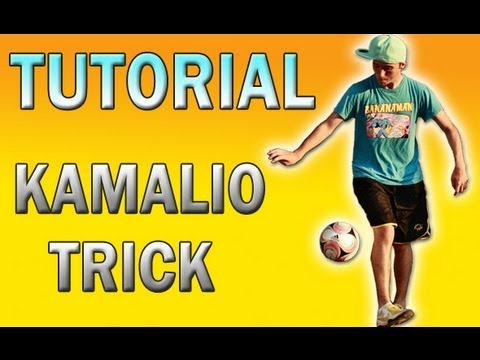 Kamalio Trick   Rake Tutorial - Football   Soccer Freestyle video