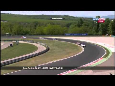 WTCC 2013 Hungary Race 1 - FULL ENG