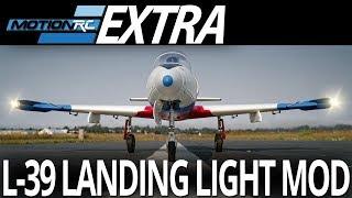 Landing Light Mod - Freewing L-39 Albatros 80mm EDF Jet - Motion RC Extra