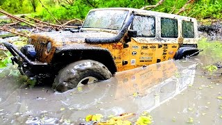 RC Extreme Pictures — RC Cars OFF Road 4x4 Adventure — Mudding 4x4 Truck Axial Jeep Wrangler Rubicon
