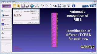 Steel RIB Measurement software