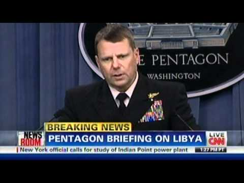 Coalition Forces Shower Libya With 110 Tomahawk Cruise Missiles - Phase I Odyssey Dawn