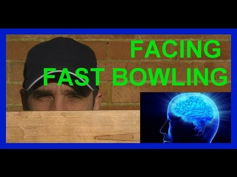 HD Cricket Coaching Batting Tips How to Play Fast Bowling