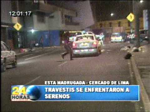 TRAVESTIS SE ENFRENTAN A SERENOS.mpg Video