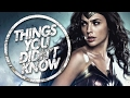 7 Things You (Probably) Didn't Know About Wonder Woman
