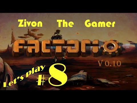 Factorio v.10 Let's Play Episode 8: Science Pack 1 & 2 Automation Part 2, Red & Green Science