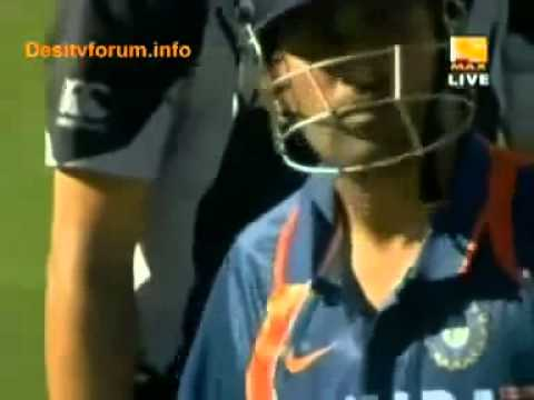 MS DHONI biggest six 120m