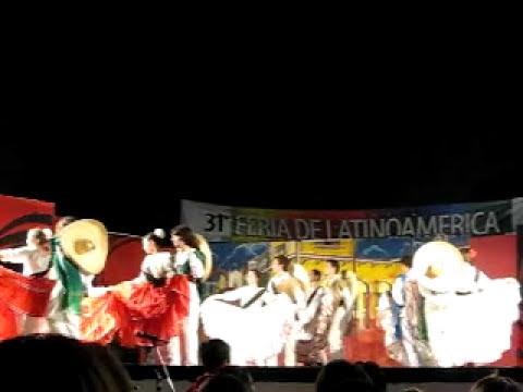Danzas de la Revolución Mexicana-31º FERIA DE LATINOAMERICA