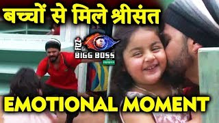Sreesanth GETS EMOTIONAL On Meeting His Kids | FAMILY WEEK | Weekend Ka Vaar | Bigg Boss 12