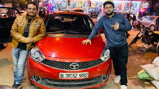 2019 Tata Tiago Modified | Seat Covers For Tata Tiago | Reverse Camera | Projector Fog Lamps