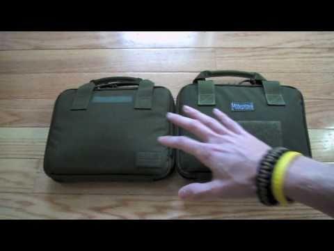 Maxpedition Pistol Case & 5.11 Pistol Case