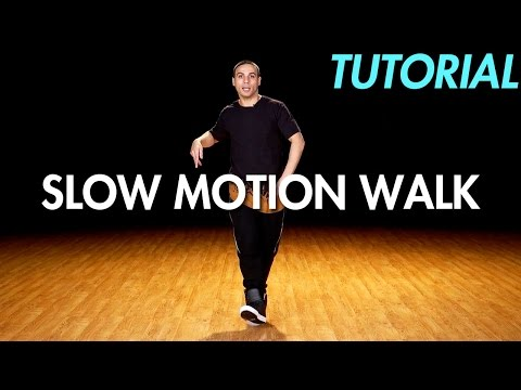 How to Slow Motion Walk (Hip Hop Dance Moves Tutorial) | Mihran Kirakosian