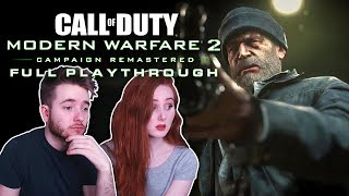 Call of Duty: Modern Warfare 2 [Remastered] | Blind Playthrough + First Time Story Reactions