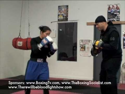 Coach Rick Technical Boxing Focus Mitt Training Mayweather Advanced Boxing Padwork Demo Workout Image 1