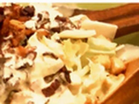 Salsa César en Thermomix - Recetas de Salsas para ensaladas