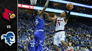 Louisville vs. Seton Hall Basketball Highlights (2018-19)