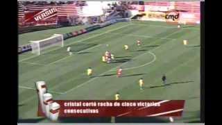 Cienciano 5 - 5 Sporting Cristal   Fecha 19 Torneo Descentralizado 2009