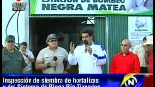 Sistema de Riego Tiznados- Venezuela además de producir sus alimentos será exportador