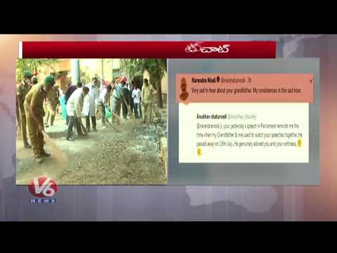 PM Narendra Modi Interacts With Netizens On Twitter | V6 News