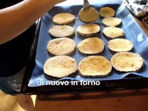 Ricette Light – Cotolette di melanzane al forno
