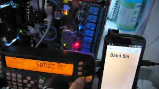 Band decoder with Raspberry PI & RemoteQTH server