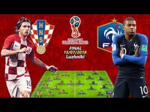 Trực tiếp World cup 2018  Pháp 4-2 Croatia hôm nay 22h ngày 15/07/2018