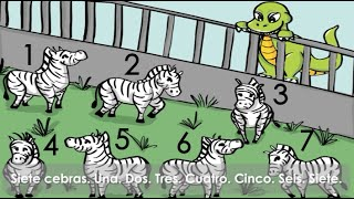 Spanish learning stories for kids - Spanish Numbers storybook