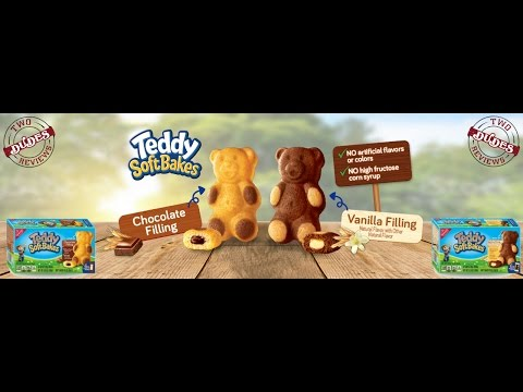 Teddy Soft Bakes Vanilla & Chocolate - Taste Test Tuesday