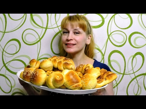 Сдобные булочки пышные вкусные - Секрет рецепта приготовления выпечки