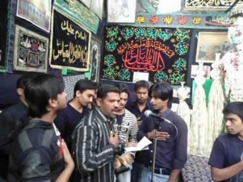 Groh-e-Shaidae Abul Fazl (A.S.) on 4th Moharram 2013 (1434 hijri) at Choti Bargah