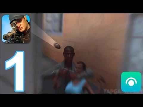 Sniper 3D Assassin: Shoot to Kill - Gameplay Walkthrough Part 1 - Region 1 (iOS, Android)
