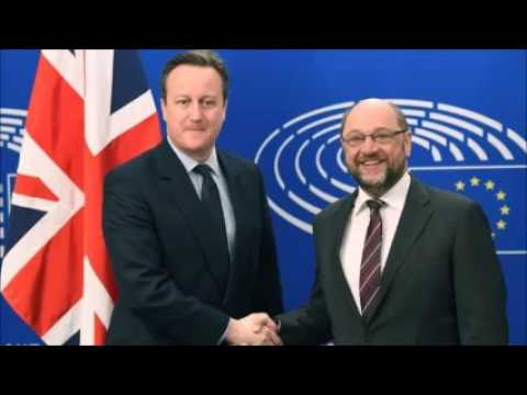 David Cameron visits Brussels for crucial EU talks