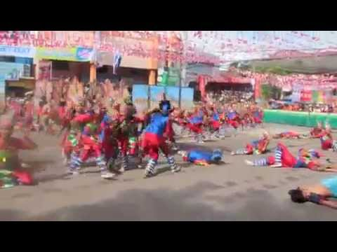 Kadayawan 2014 Champion Mati City/Matiao NHS Special Program in the Arts