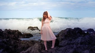 Vanilla Palm Films Island Clothing - Pink Sleeveless Dress - Model/Singer Brooke Michelle...