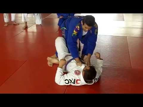 Jiu Jitsu Techniques - Escape from Scorpion Lock at Half Guard Image 1