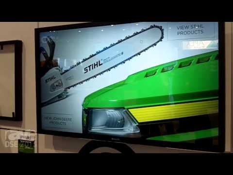 DSE 2015: Philips Talks About 55″ Integrated Touch and Overlay Touch