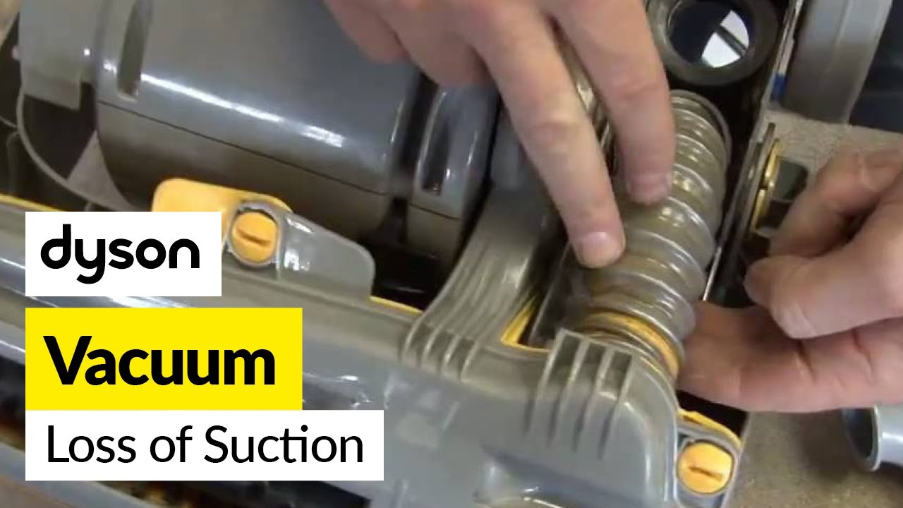 How To Fix Loss Of Suction In A Dyson Dc07 Vacuum Cleaner
