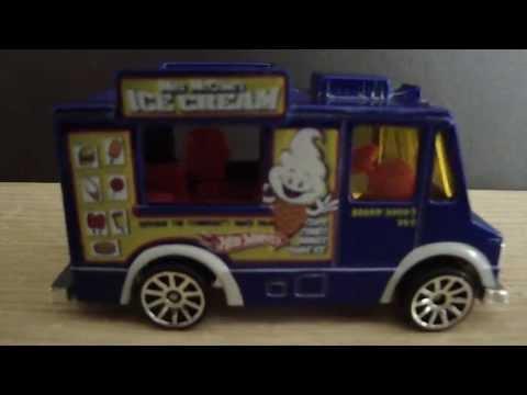 Hot Wheels 2007 Ice Cream Truck