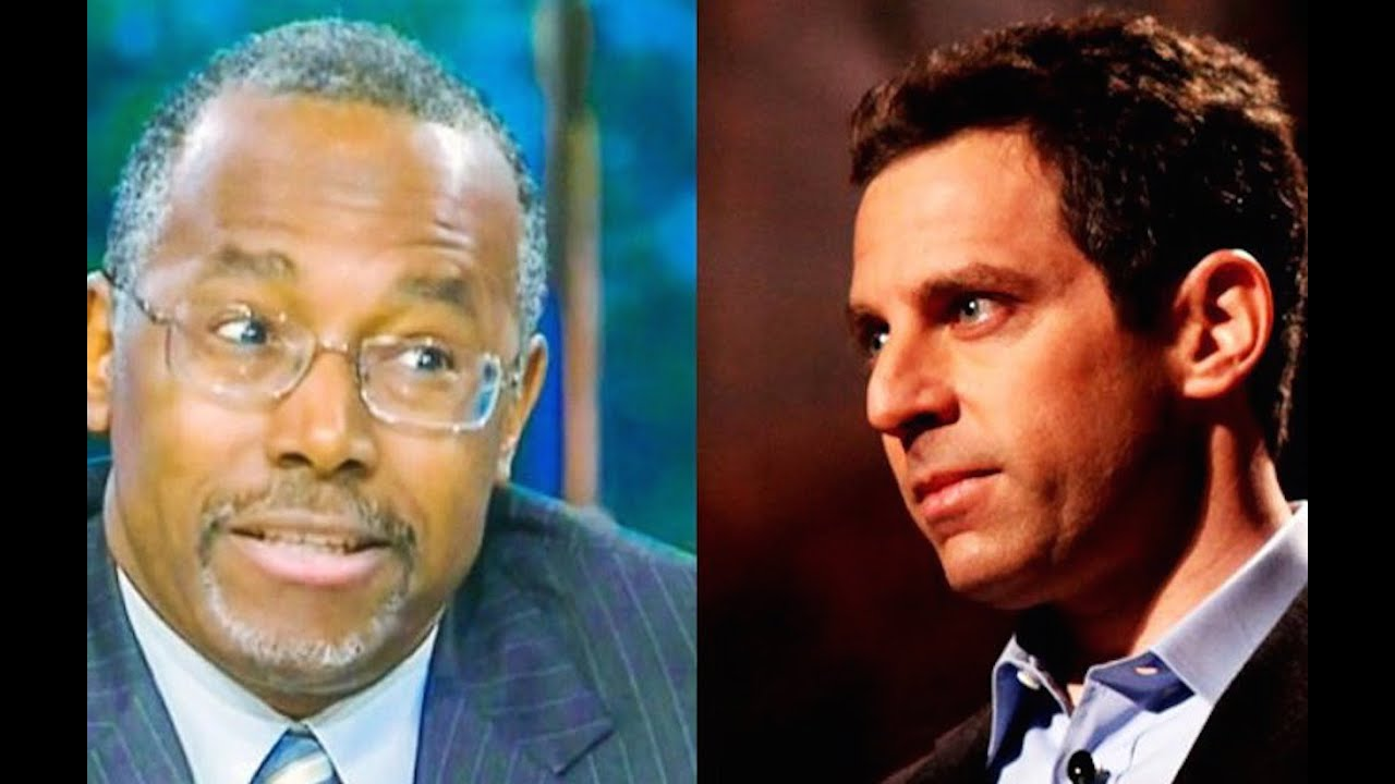 Sam Harris Prefers Ben Carson's Foreign Policy To Noam Chomsky's