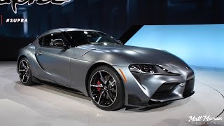 The 2020 Toyota Supra is Finally Here! Close Up Look! - 2019 NAIAS