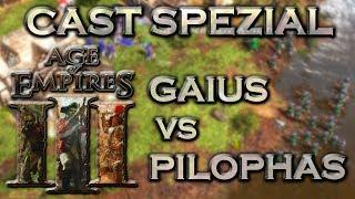 Age of Empires III Special  Cast - 1 - GeneralPilophas vs Gaius Julius Caesar