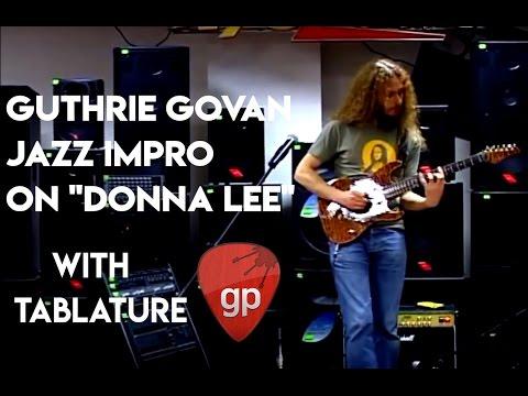 Guthrie Govan - Donna Lee