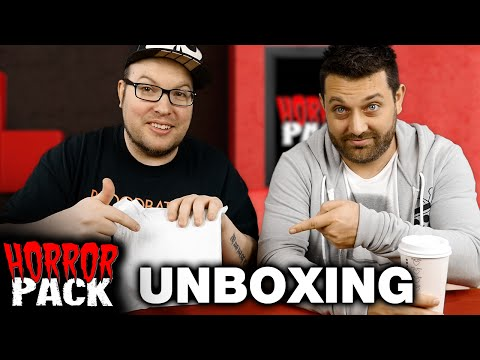 Horror Pack February 2016 Unboxing! - Horror Movie Subscription Box