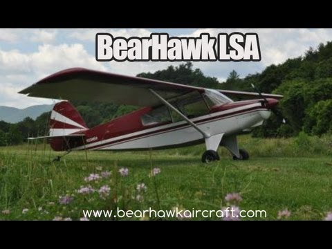 BearHawk, Bear Hawk experimental light sport aircraft.